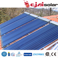 8,10,12,15,16,18,20,24,25,30 Evacuated Tubes Heat Pipe Solar Thermal Collector