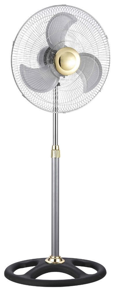 18 inch hot selling electric industrial stand fan round base without heavy aluminum blades