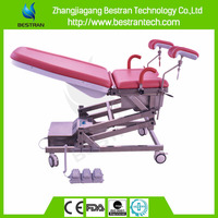 China BT-OE010 Hospital multifunction electric obstetric table, gynecology chair with foot pedal
