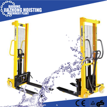 hot selling hydraulic pallet stacker 1 ton 2ton price
