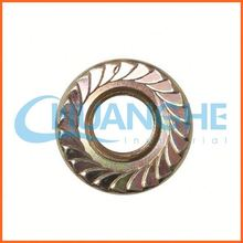 China supplier gr5 din6923 titanium hex flange nut for bicycle