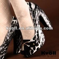 2012 lady fashion shoes