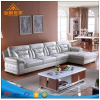 Foshan modern corner furniture sofa set designs