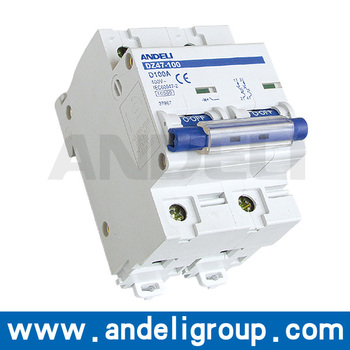 DZ47-100 Series Miniature Circuit breaker 10a mcb 1p