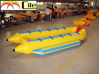 CILE Inflatable Water Toy Fly Fish Banana Boat for sale for kids and adults