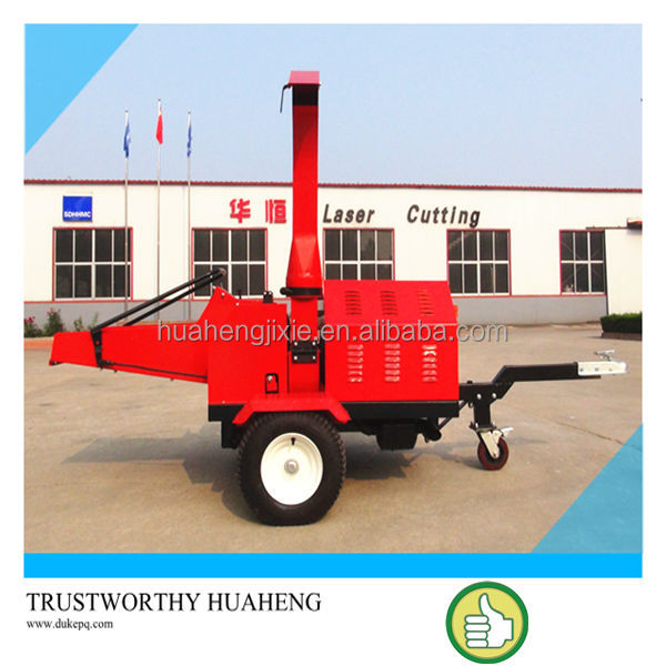 Hot Selling 22HP PTO Wood Chipper For Tractor,Hydraulic Feeding