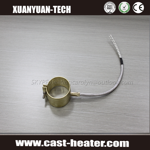 Electric Brass Nozzle Band Heater for Injection Molding Machine