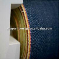 Breathable Yarn Dyed Cotton Blue Jeans