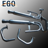 AIR-COOLED BUGGY BAJA DUAL RACING EXHAUST SYSTEM FOR VW