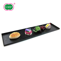 Rectangle shape disposable snack snack food plastic tray for desserts