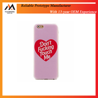 China Suzhou plastic prototype maker supply high quality cnc plastic prototype phone case