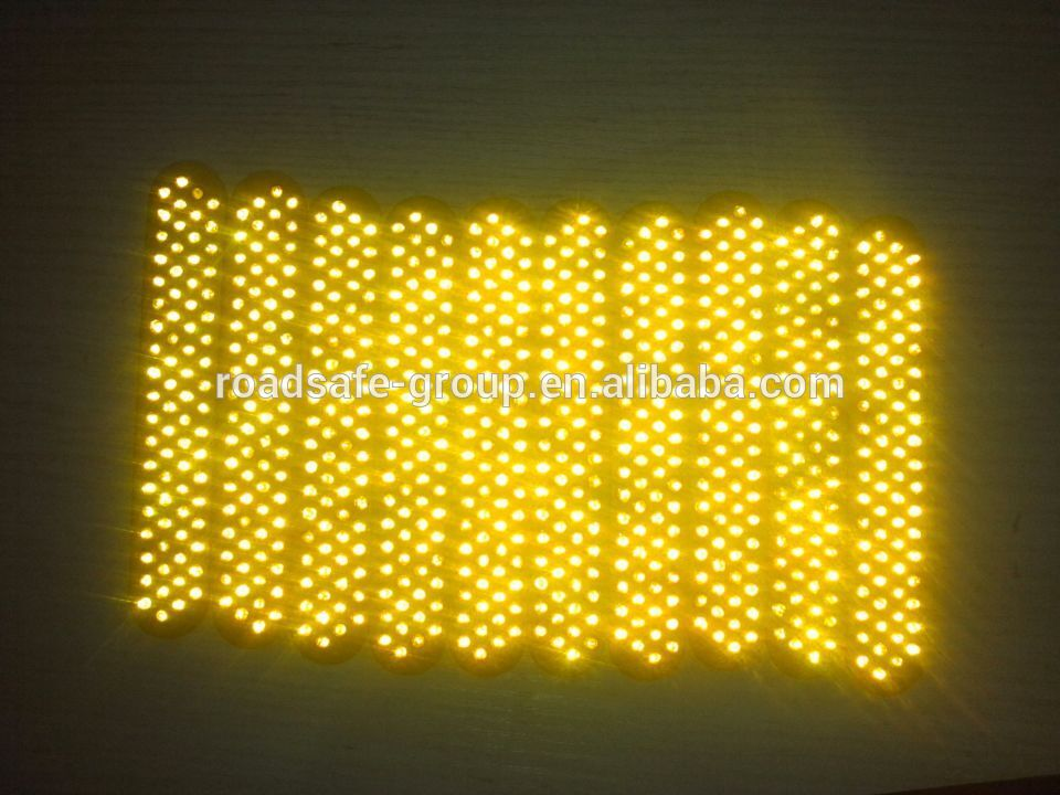 Reflective Panel 75*14mm with 43 Plastic glass beads