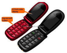 big keyboard SOS button GSM elderly mobile phone