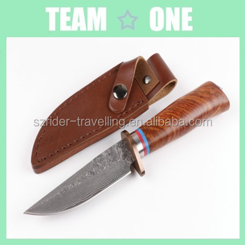 Damascus Steel fixed Blade Hunting <strong>Knife</strong> RD402295