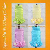 Lovely dog clothes fancy clothes of dog beautiful pet clothes for rabbits SA-493