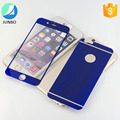 Wholesale Electroplating Mirror Front & Back Tempered Glass Screen Protector For Iphone 6