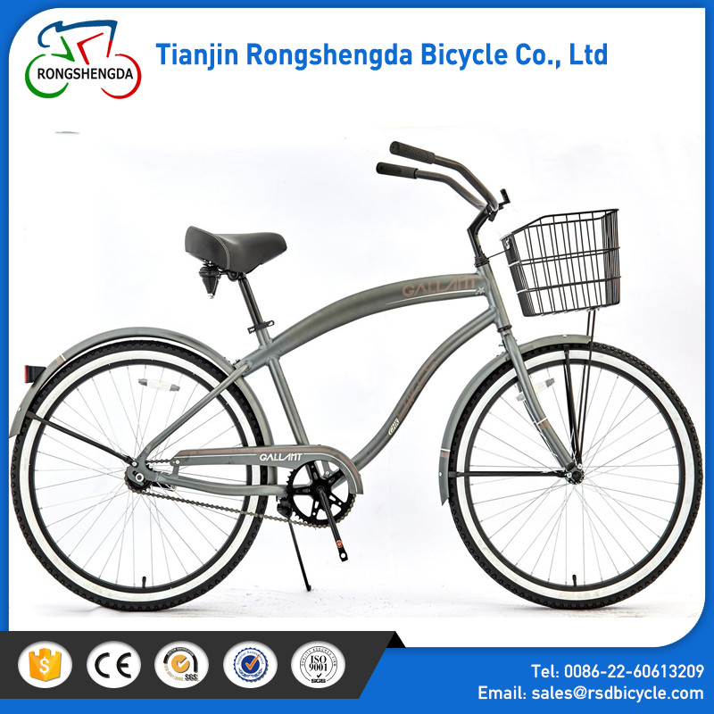"china online shopping 26"" beach Adult Beach Bycicle Bike /cruiser bike made in china / CE test 26"" beach bike"
