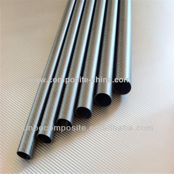 Manufacturer matte 3k weave carbon fiber tube with high strength