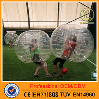 Inflatable bubble voetbal for adults and kids 1.25m/1.55m/1.8m sumo bumper hamster ball suit