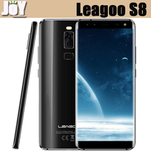 New Arrival 5.72 Inch Full Screen Touch Mobile MTK6750T Octa Core 3GB RAM 32GB ROM Leagoo S8 Smartphone Android 4G LTE