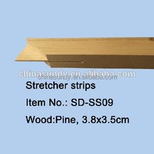 Wooden Canvas Stretcher Bars Wholesale,Cheap Pine wood Stretcher Bars For Canvas