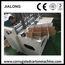 carton box making machine /automatic paperboard Crosshatchers Partition slotter