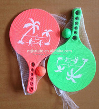 plastic beach tennis racket,paddle for kids and adults