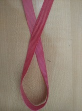 Custom high quality woven nylon/spandex decorative grosgrain ribbon elastic