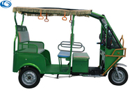 2017 hot sale battery operated electric rickshaw or passenger