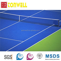 Silicone PU sport court surface floor coating
