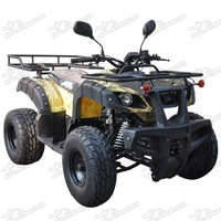 Bull ATV 125cc For Adults Semi Auto Gears F-N-R Four Wheels Quad Bike With CE