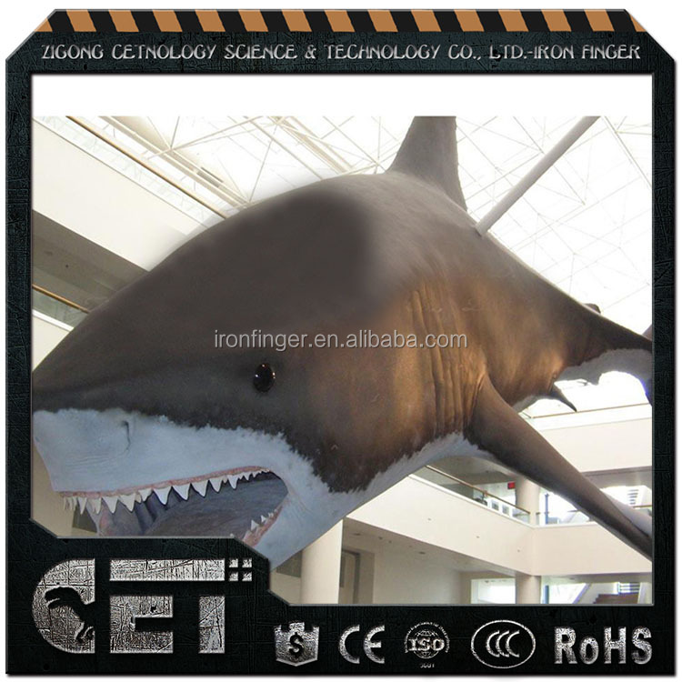 Animatronic Shark animatronic animal shark replicas for education