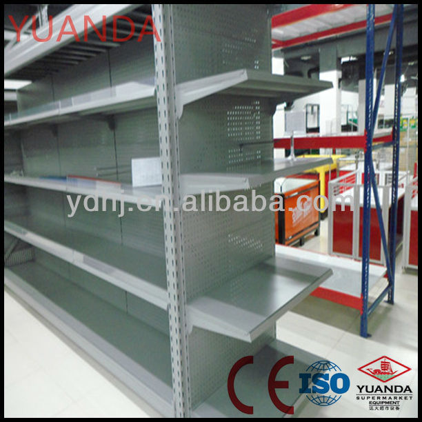 Hot Selling supermarket pop shelf display with CE