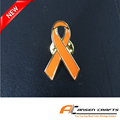 Cheap price Childhood Cancer Awareness Pin Yellow Ribbon Lapel Pin