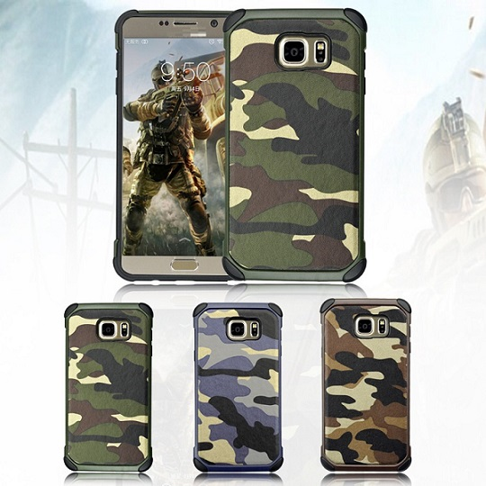 2016 hot sales camouflage armor cover for samsung galaxy note 5 case