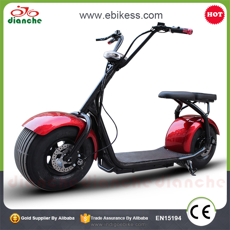 2 Wheel Mobility Scooter Fat Tire Electric Chopper Scooter