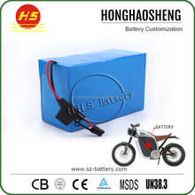 Rechargeable lifepo4 36v 20Ah ebike battery pack with BMS and charger