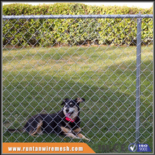 high quality chain link dog kennel fence netting