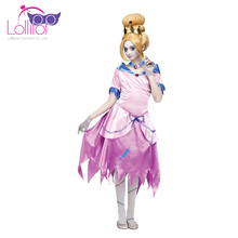 Cheap unique halloween costumes girls cosplay zombie cinderlla masquerade ball dresses for kids