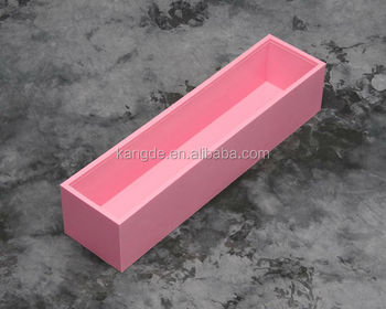 Easy Release Silicone Soap Molds, Handwork Single Soap Mold-Pink Color