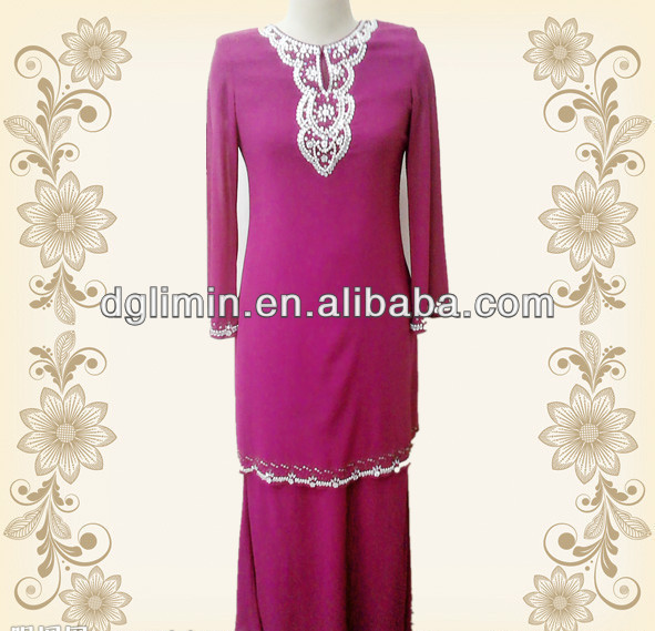fashion design baju kurung for wholesale B7118#