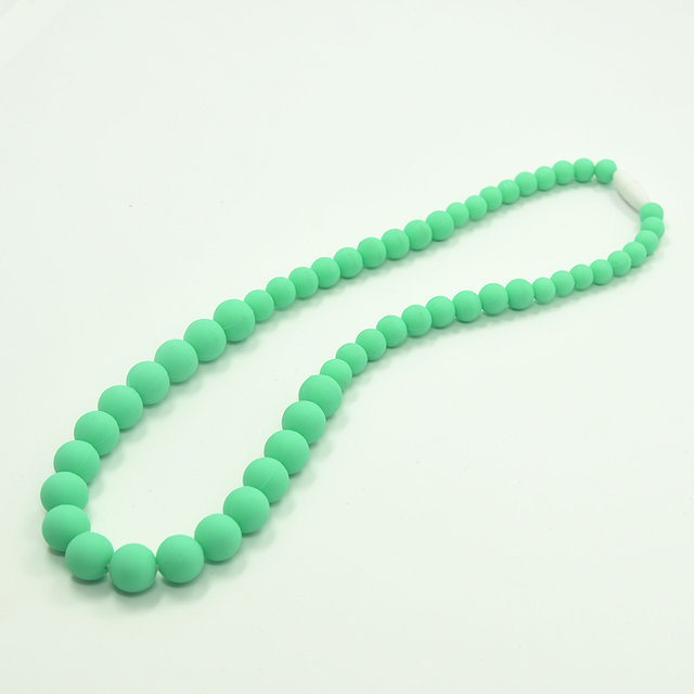 2017 Fashion Any Color Cheap Sales Silicone Teething Necklace Wholesale
