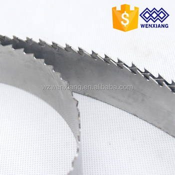 German Steel Carbon Steel Wood Cut Band Saw Blade for Portable Sawmill