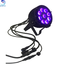 2017 China Outdoor Dmx 6in1 Rgbwauv 9x15w Led Par for stage and wedding dj