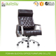 aluminum Italian leather office chair unique design comfortable boss office furniture with factory price BIF SGS certification