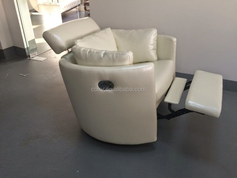 Living Room Modern Round Rocking Reclining Chair With