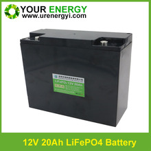 solar street light lithium battery 5-8years' lifepo4 20Ah, 24Ah, 30Ah, 40Ah 12v battery