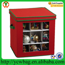 Foldable Christmas Holiday Decoration crafts container storage box for ornament