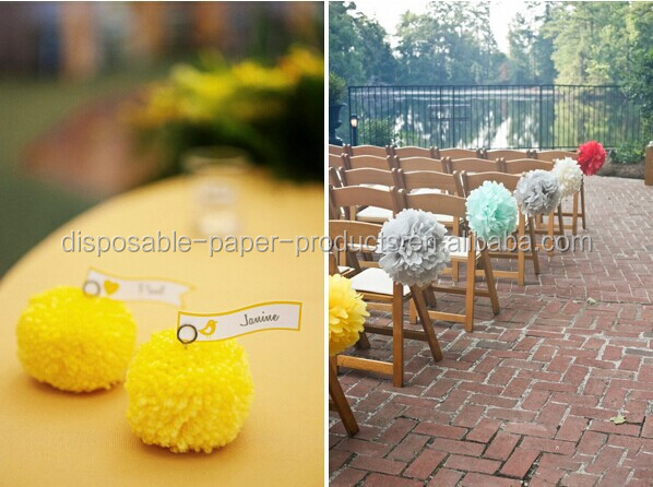 tissue flowers Tissue Paper Poms centerpieces - wedding - garden party Kids Birthday party decor Baby Shower Wedding