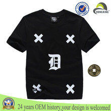 Custom Couple T Shirts Wholesale Cheap T-Shirt Organic Cotton Shirt